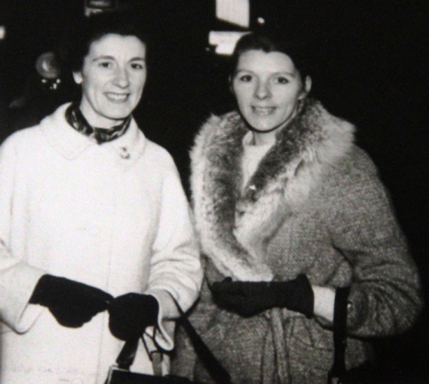 Mum on right with faithful friend