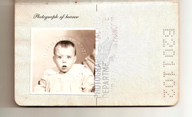 Kerry's first passport