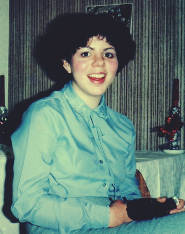 Kerry looking like a Catholic school girl...