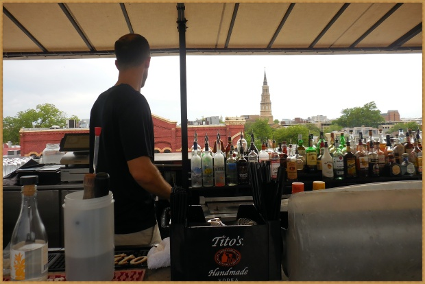 The Rooftop Bar at The Vendue Hotel