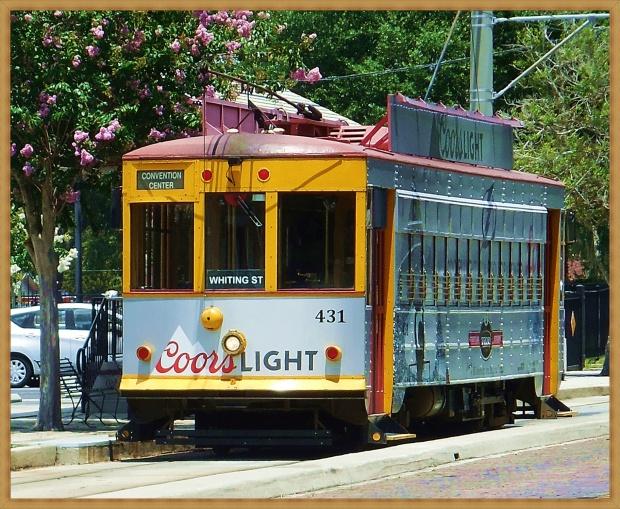 Streetcar in Ybor City
