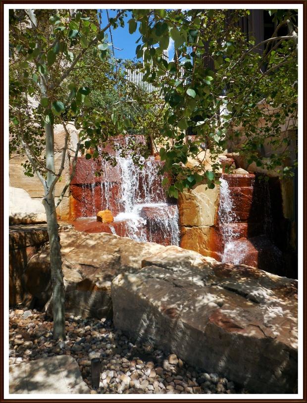 Man-made Waterfall at City Creek Mall