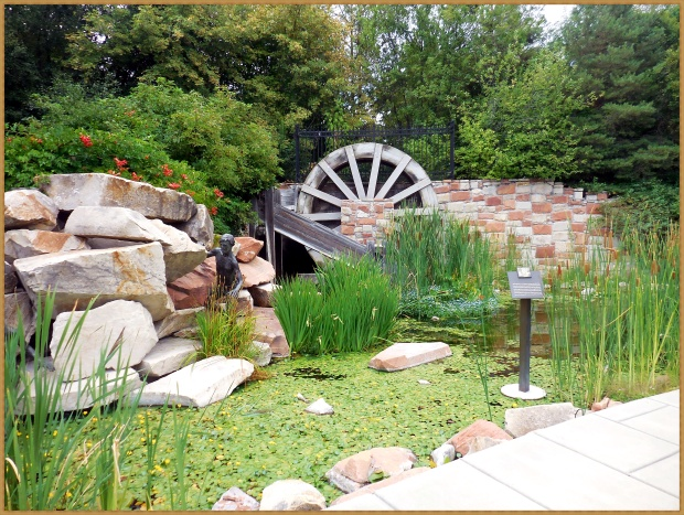 model-waterwheel
