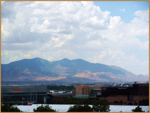 Mountain view from Salt Lake City
