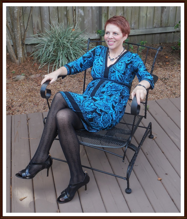 I love lacy tights!