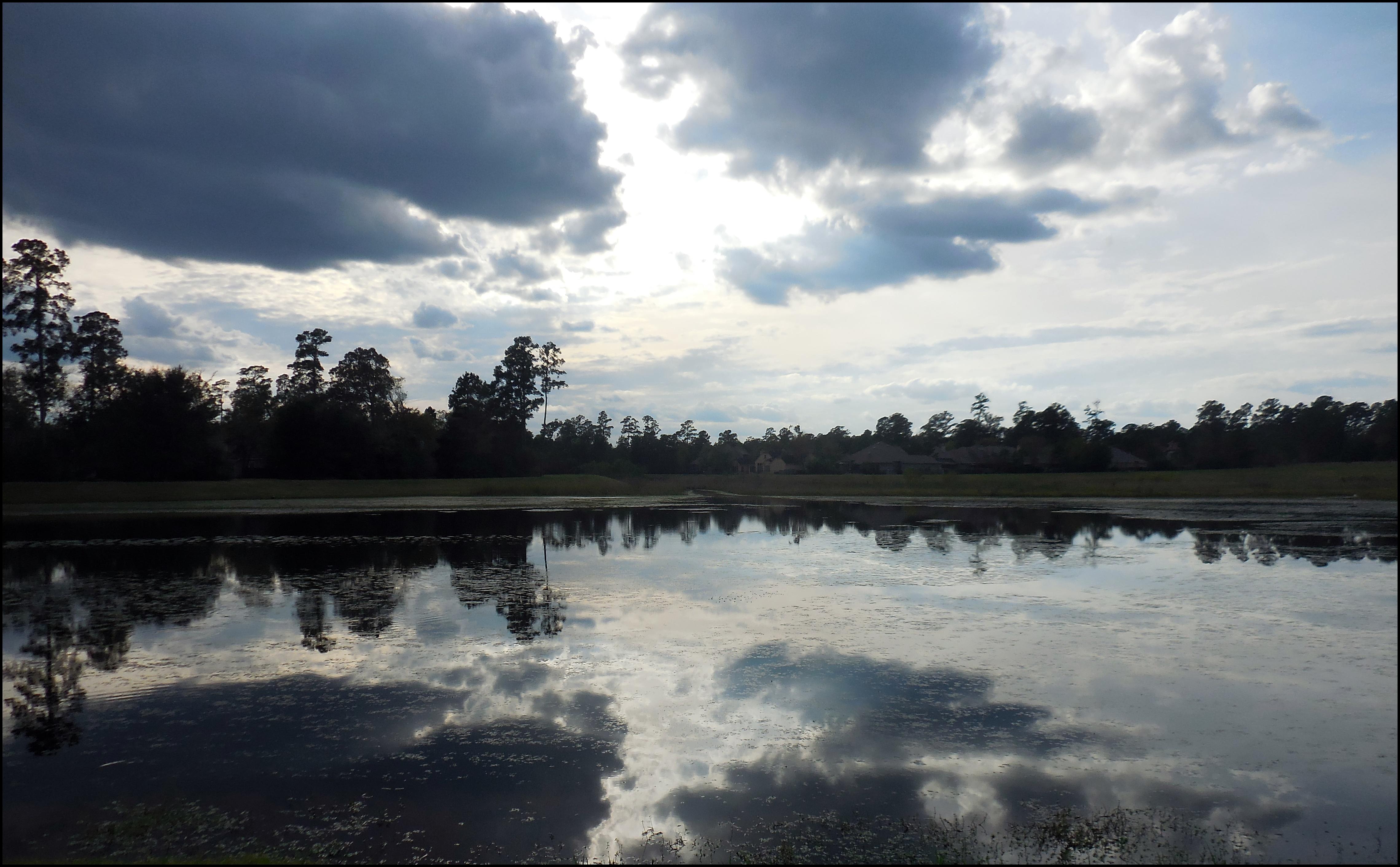 fall-dark-cloud-reflection