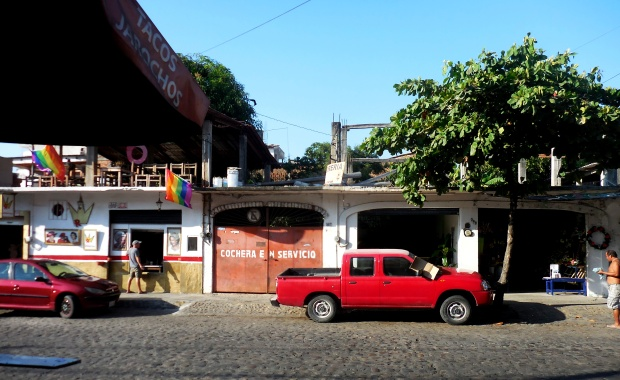 Autoshop and Taco Stand