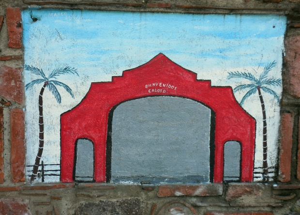 Simple Mural at Rivera del Rio